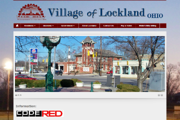 Image of the Lockland Website