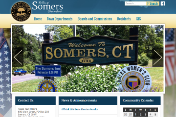 Image of Somers Website