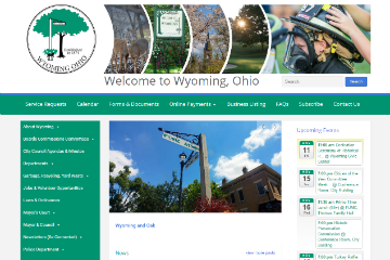 Image of the Wyoming Website