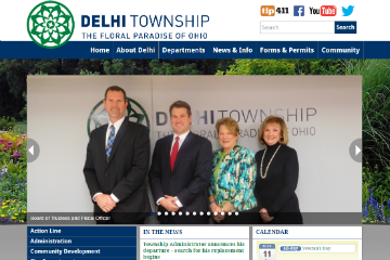 Image of Delhi Website