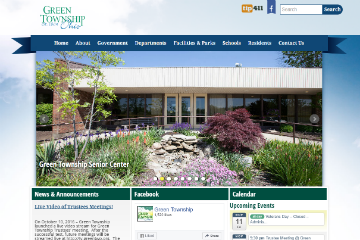 Image of Green Township Website