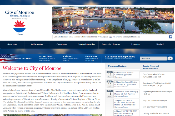 Image of Monroe Website