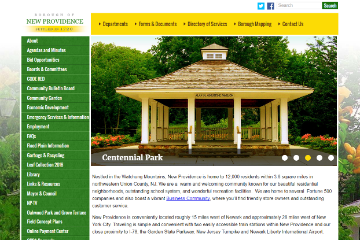 Image of New Providence Website