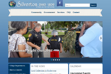 Image of Silverton Website